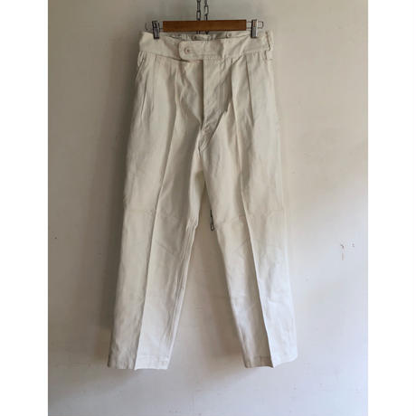 1957's Royal Regimental of Scotland Navy Cotton Parade Trousers Dead Stock