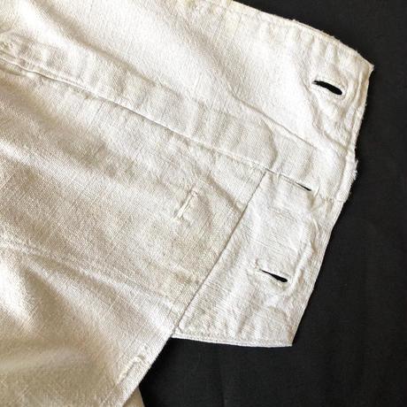 1930's /Early1940's French Marine Nationale Linen Pants (Deck Pants?)