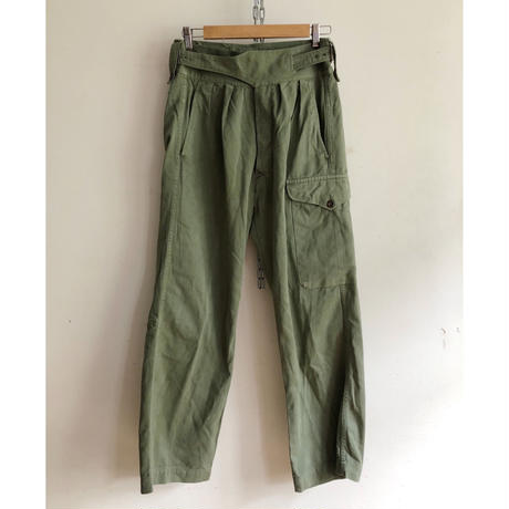 50's〜60's Royal Australian Army Gurkha Trousers