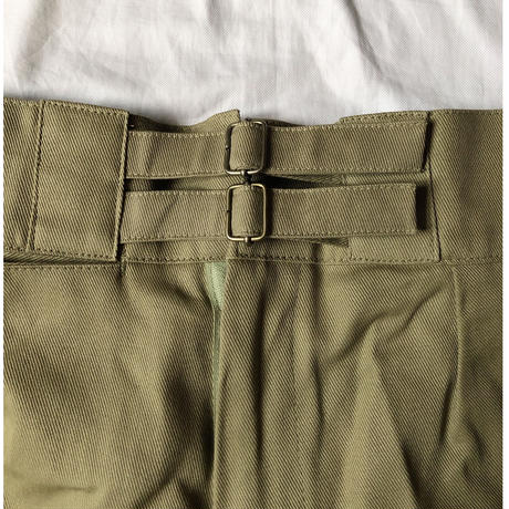 Royal Austlarian Army Double Buckels Gurkha Shorts Dead Stock Khaki