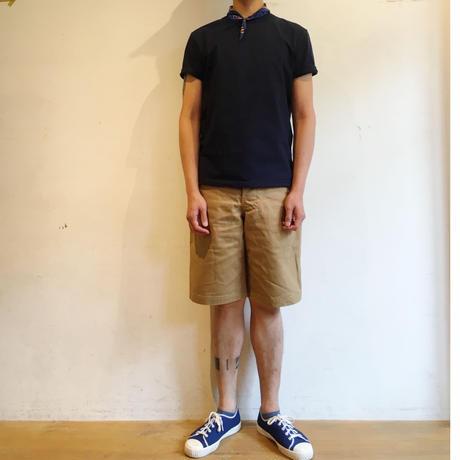 "OLD TOWN ""Plain Shorts"" KHAKI CANVAS"