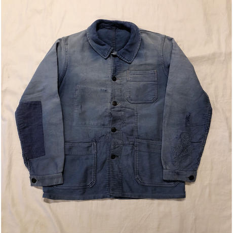 "40's Patched Repaired Moleskin ""BORO"" Jacket/2"