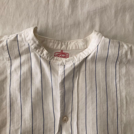 30's〜40's French Holiday Shirt. Exellent Condition