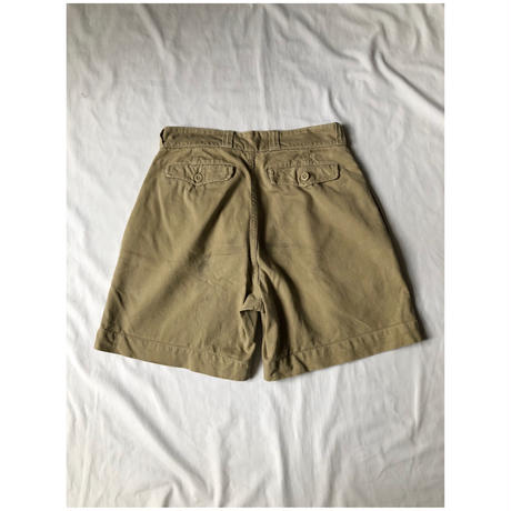 50's French Chino Shorts 1