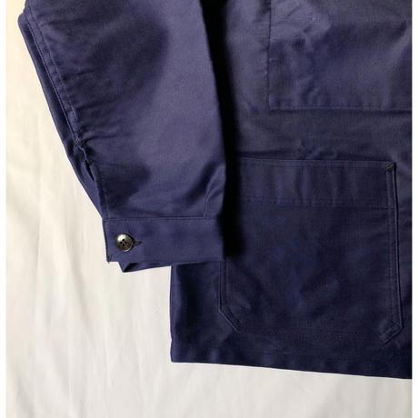 "50's ""Mont Kemmel"" Ink Blue Moleskin Coverall Dead Stock"