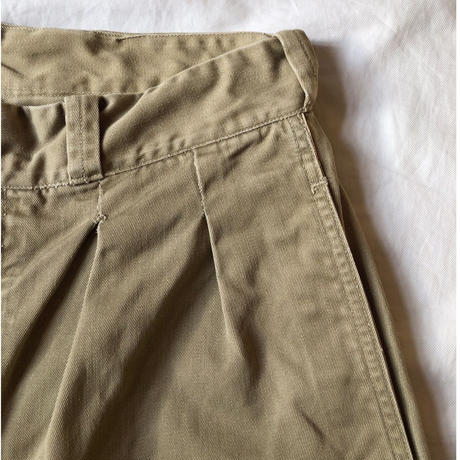 "50's French Army Chino Trousers ""Unknown Size Label"" Excellent Size and Condition"