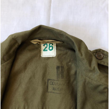 "60's French Army M47 Field Jacket Dead Stock ""26"" After Washed"
