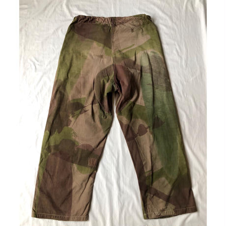 40's British Special Force Windproof Camo Combat Trousers