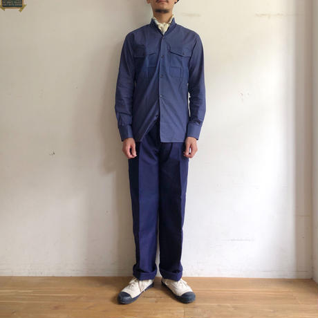 "50's ""Eska"" Ink Blue Moleskin Trousers Dead Stock ""44"""