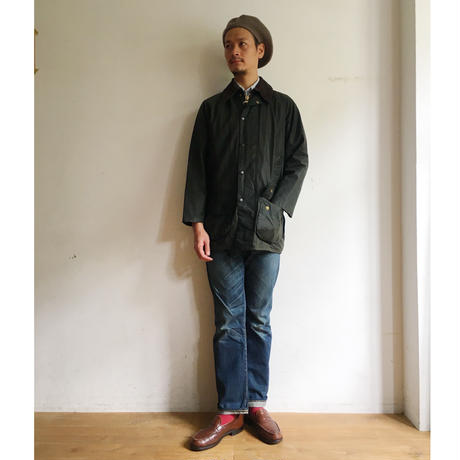 "80's〜90's Barbour 3Crest  ""Beaufort"" 36"