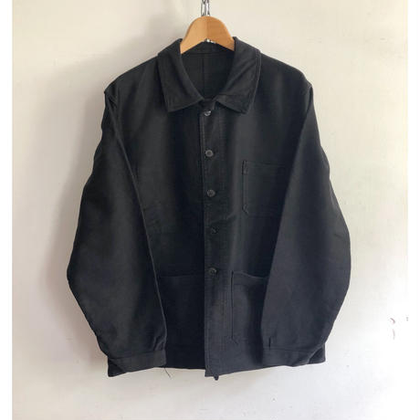 50's Black Moleskin Coverall Exellent Condition