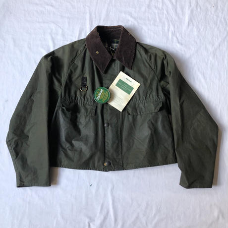 90's Barbour Spey Jacket Large with Barbour Care book