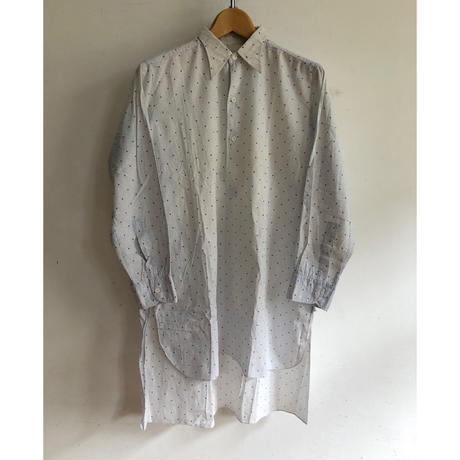 30's Farmers Smock Squear Point Pattern