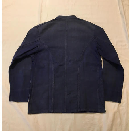 "50's ""Double Breasted/ Stand Collar"" Work Jacket"
