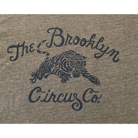The BROOKLYN CIRCUS Tiger Cong 1 Tee  Heather Grey