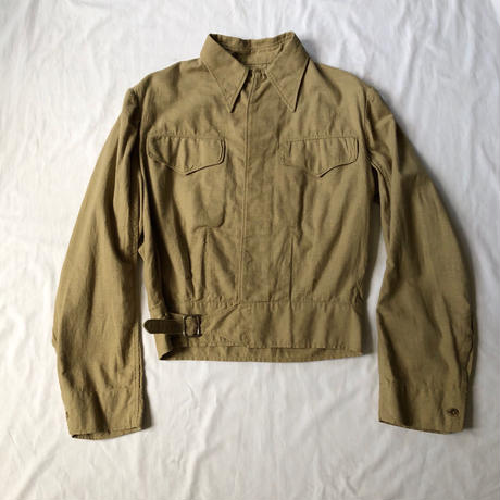 40's British Army (Royal Indian Army?) Aertex Battle Dress Jacket