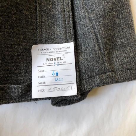 50's Wool Fabric Farmers Jacket Dead Stock