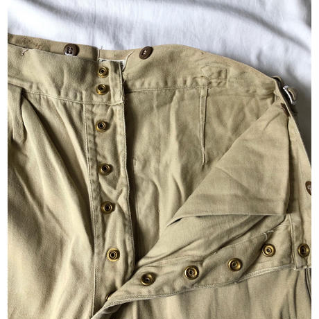 1958 Royal Australian Army Studs Chino Trousers Good Condition/6