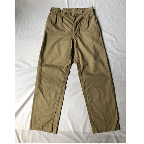 50's M52 French Army Chino Trousers Dead Stock (After Drying) 44