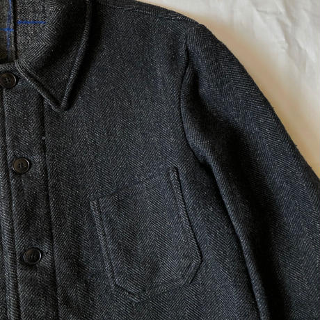 1950's Wool Farmes Work Jacket Made from Pascal Fabric.