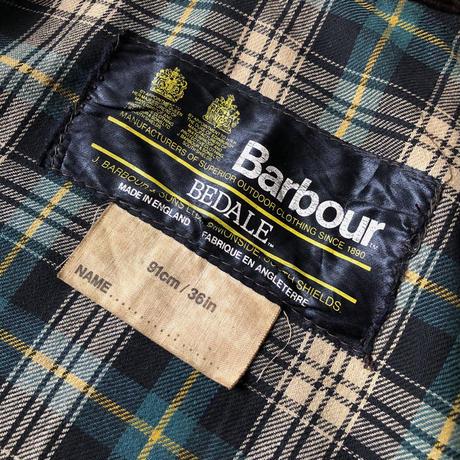 80's〜90's Barbour 4 pocket Bedale 36