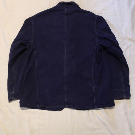 "50's British Workwear  ""HOLDFAST"" Change Button  Work Jacket"