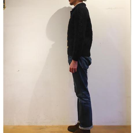 INVERALLAN 3A Cardigan Black 38〜40