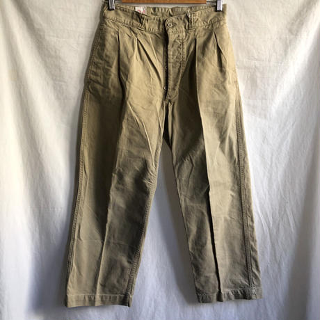 Later50's French Army M52 Chino Trousers 21