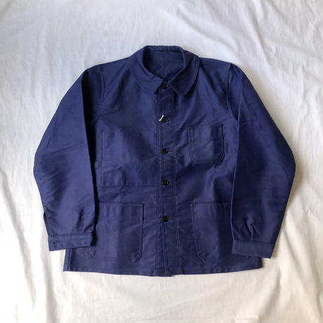 "50's Ink Blue Moleskin Coverall Dead Stock, Made by ""Mont Kemmel"""