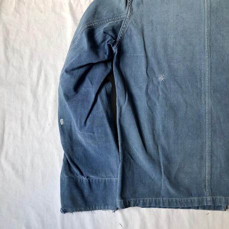 50's French Marine Nationale Double D Pockets Shipyard Jacket