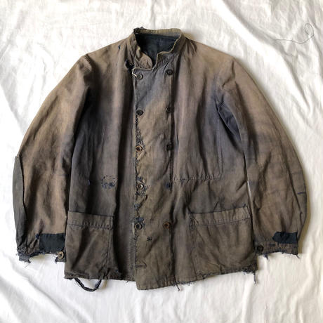 〜1920's Boro Stand Collar/Double Breasted Jacket