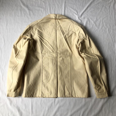 "30's〜Early40's Natural Cotton Work Jacket Dead Stock Made by ""Au Molonel"""