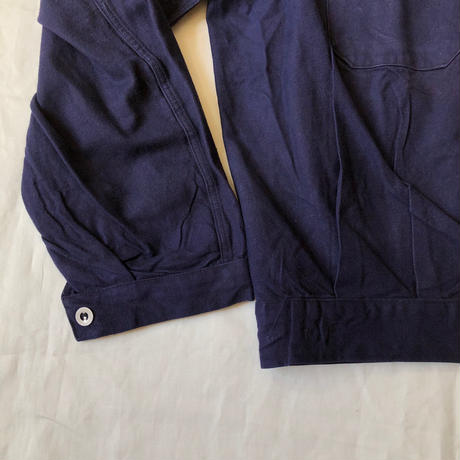 1940's French Military (Army? Marine nationale?) Mechanician Jacket