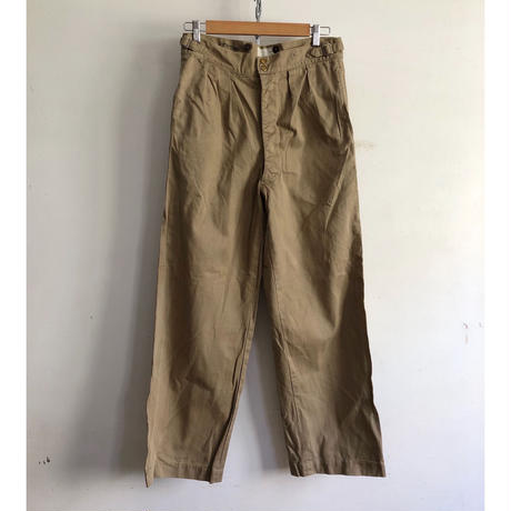 50's Royal Australian Army Studs Chino Trousers Good Condition/2