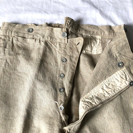 1933's (Pre WW2) French Military Bourgeron Pants