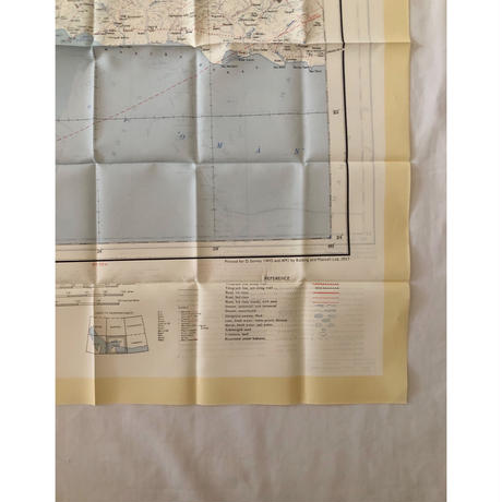 "50's Royal Air Force Escape Scarf Dead Stock ""BANDRA ABBAS/HOFUF"""