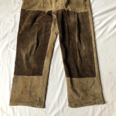 40's Patched, Repaired Corduroy Work Trousers