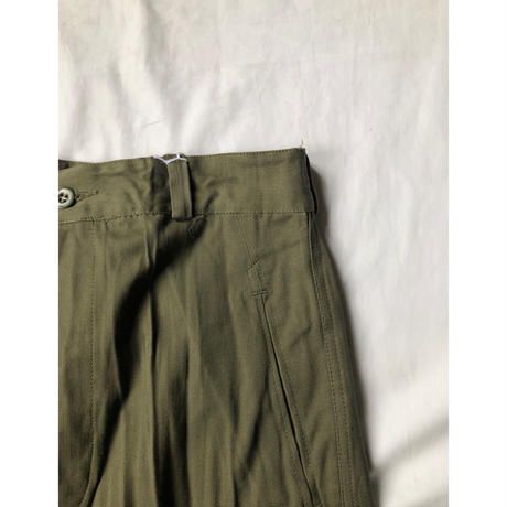 "60's French Army M47 Field Trousers ""21""  Dead Stock (Non Wash)"