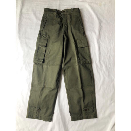 "French Army M47 Field Trousers ""21""  Dead Stock (One Washed)"