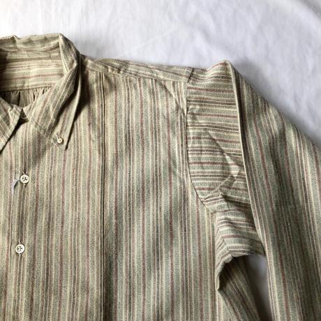 30's Cotton Flannel Farmers Smock Dead Stock/2