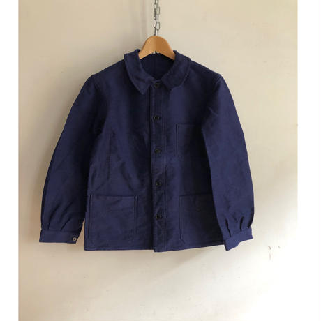 """40's Ink Blue Moleskin Coverall Dead Stock Made by """"SARRANS"""""""
