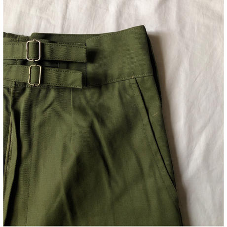 Royal Austlarian Army Double Buckels Gurkha Shorts Dead Stock Olive