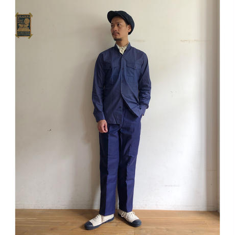 "50's ""Maximum"" Ink Blue Moleskin Trousers Dead Stock"