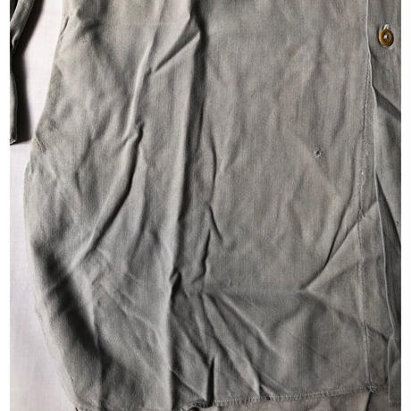 30's Grey Plain Farmers Shirt