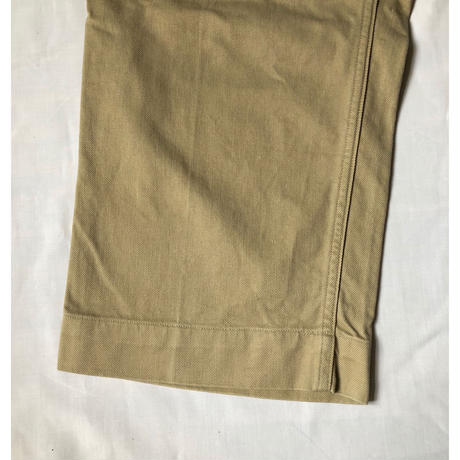 "50's French Army Chino Trousers ""21"""