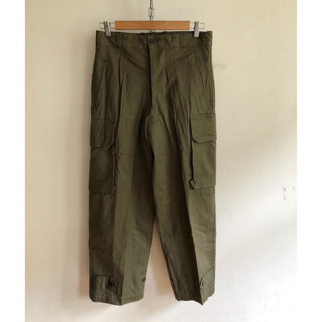 "60's French Army M47 Field Trousers Dead Stock ""11"""