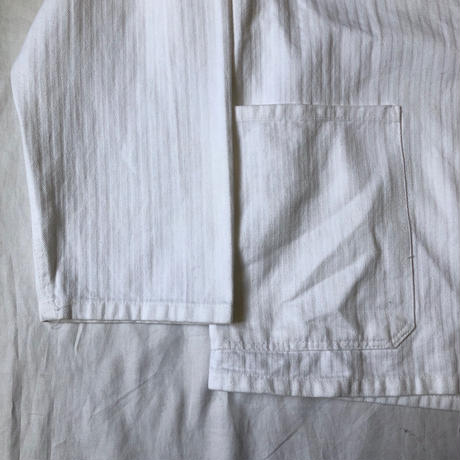 50's French White HBT Coverall  Exellent Condition