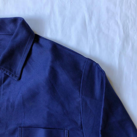 50's Ink Blue  Moleskin Coverall Dead Stock/1
