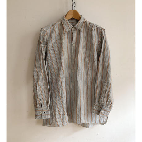 40's French Farmers Shirts Good Condition