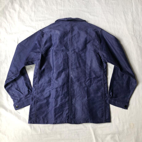 """Later40's/Early50's Ink Blue Moleskin Coverall Made by """"La Cap de Bruyere"""""""